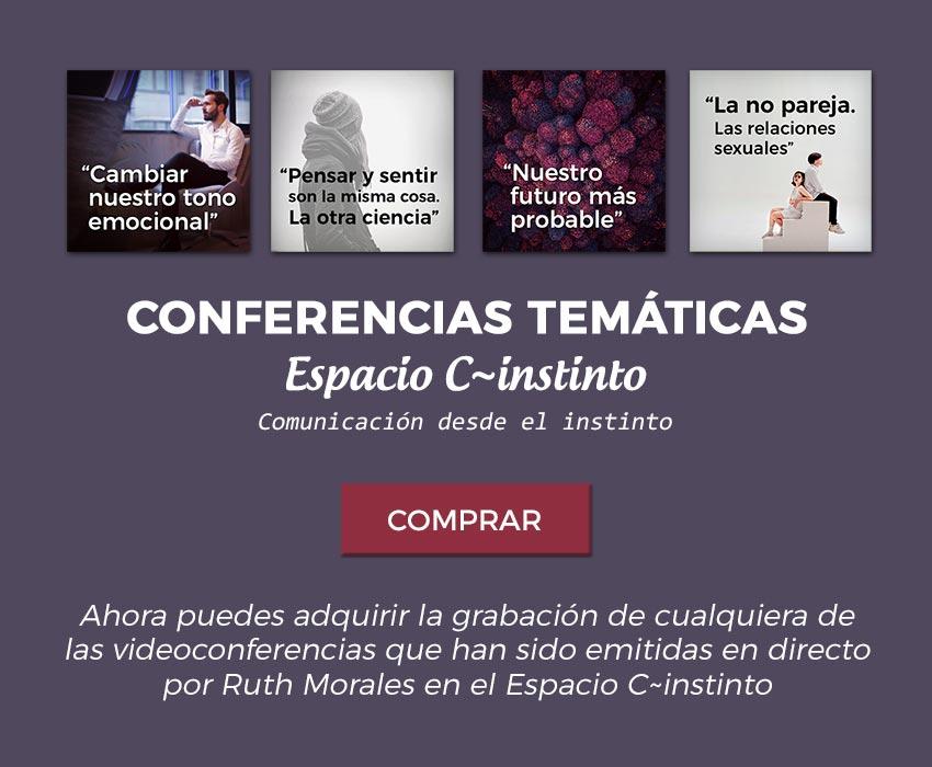 Conferencias temáticas. Espacio C~instinto